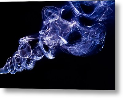 Smoke 11 Metal Print by Dan Wells