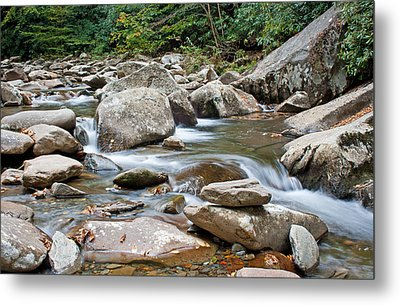 Smoky Mountain Streams Metal Print