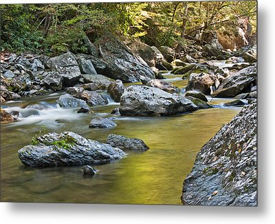 Smoky Mountain Streams II Metal Print