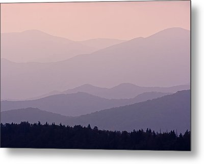 Smoky Mountain Sunset Metal Print