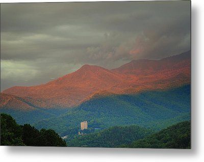 Smoky Mountain Way Metal Print by Frozen in Time Fine Art Photography