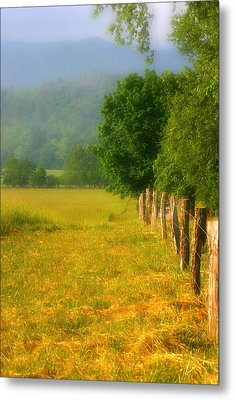 Smoky Mountains Cades Cove Metal Print