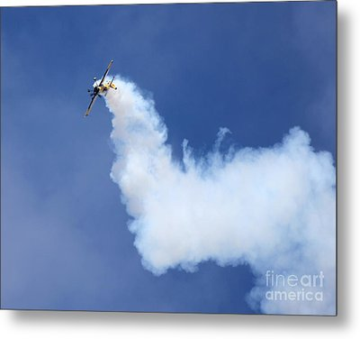 Metal Print featuring the photograph Smoky Trail by Alex Esguerra