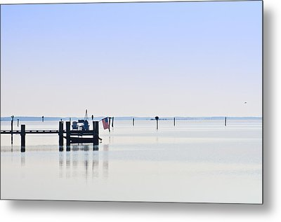 Smooth As Glass Metal Print by Bill Cannon
