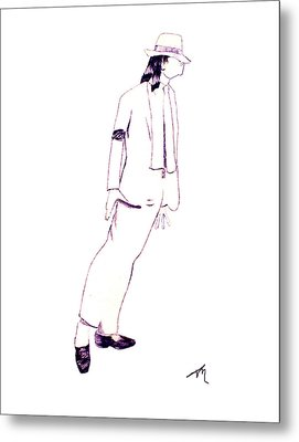 Smooth Criminal Metal Print