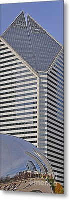 Smurfit And The Bean Metal Print by Mary Machare