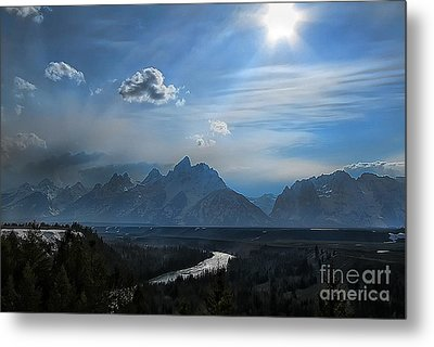 Metal Print featuring the photograph Snake River Overlook by Clare VanderVeen