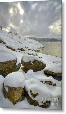 Snowcapped Metal Print by Idaho Scenic Images Linda Lantzy