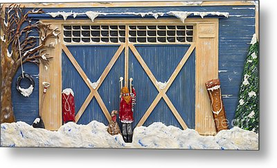 Snowed In Metal Print by Anne Klar