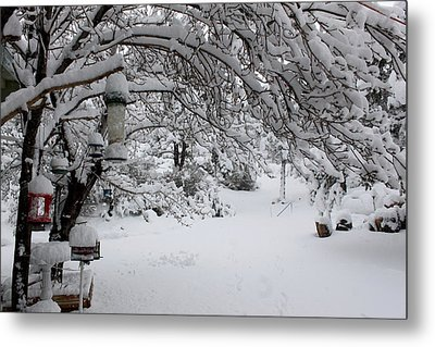 Snowscape Four Metal Print