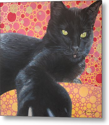 So Not Your Friend Metal Print by Kerry Neuville