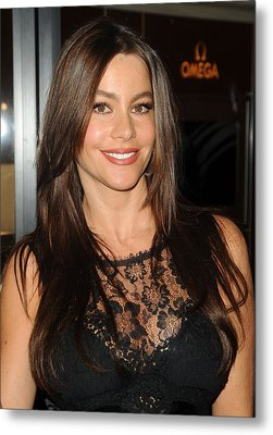 Sofia Vergara At A Public Appearance Metal Print by Everett