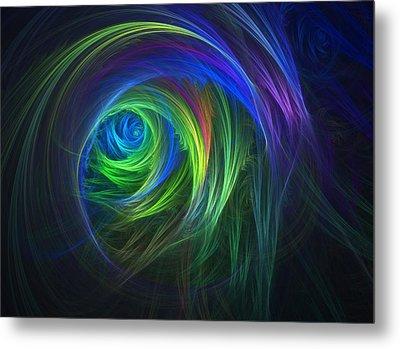 Soft Swirls Metal Print by Lyle Hatch