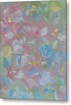 Metal Print featuring the painting Softly Spoken by Judith Rhue