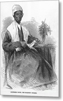 Sojourner Truth (d.1883) Metal Print by Granger