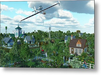 Solar Flight Metal Print by Diana Morningstar