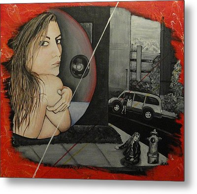 Sold Into A Life Of Prostitution Metal Print by Jean Kieffer