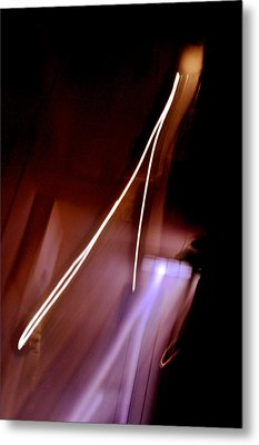 Solitary Thrust Metal Print
