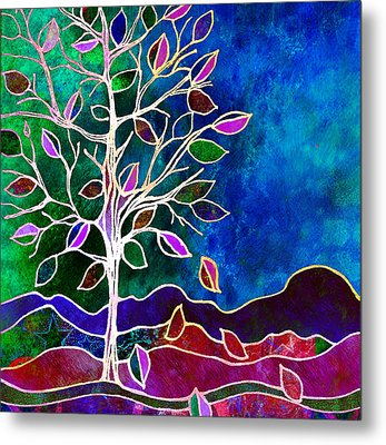 Solstice Evening Metal Print by Robin Mead