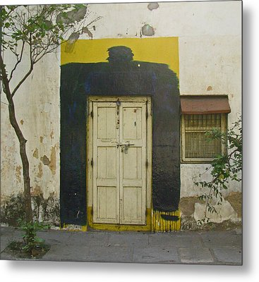 Metal Print featuring the photograph Somebody's Door by David Pantuso