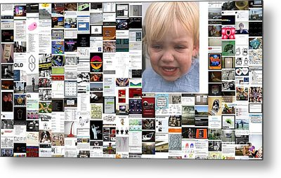 Metal Print featuring the photograph Something To Cry About by Holley Jacobs