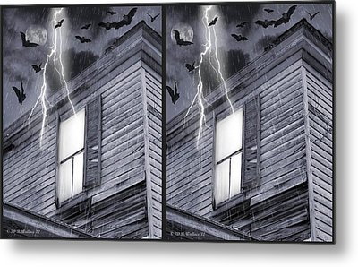 Something Wicked - Cross Your Eyes And Focus On The Middle Image Metal Print by Brian Wallace