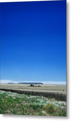 Metal Print featuring the photograph Somewhere On Hwy 285 Number One by Lon Casler Bixby