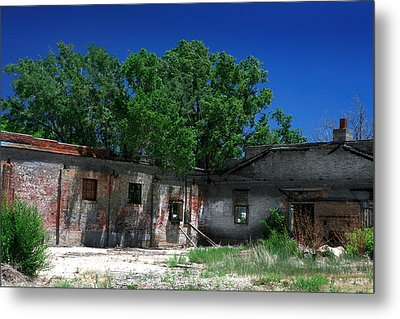 Metal Print featuring the photograph Somewhere On Hwy 285 Number Three by Lon Casler Bixby