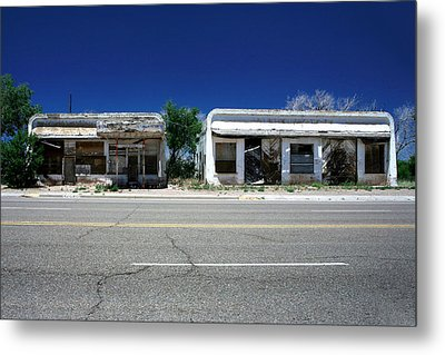 Metal Print featuring the photograph Somewhere On Hwy 285 Number Two by Lon Casler Bixby