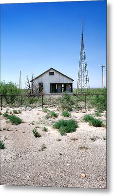 Metal Print featuring the photograph Somewhere On The Old Pecos Highway Number 5 by Lon Casler Bixby