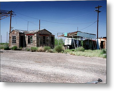 Metal Print featuring the photograph Somewhere On The Old Pecos Highway Number 8 by Lon Casler Bixby