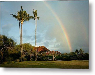 Somewhere Under The Rainbow Metal Print by Michael Albright