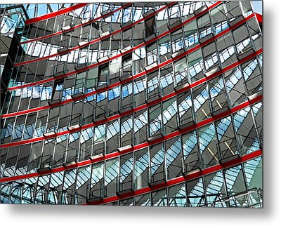 Sony Center - Berlin Metal Print