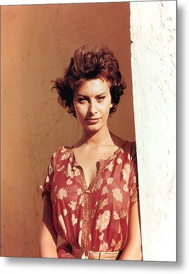 Sophia Loren, Legend Of The Lost, 1957 Metal Print