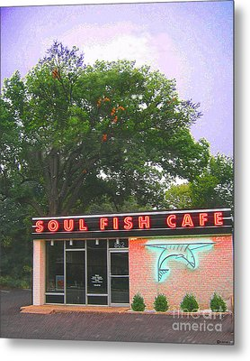 Soul Fish Metal Print by Lizi Beard-Ward