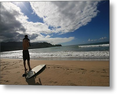 Metal Print featuring the photograph Soul Surfer by Lennie Green