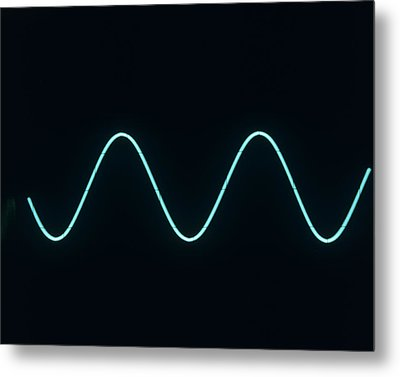 Sound Wave Metal Print by Andrew Lambert Photography