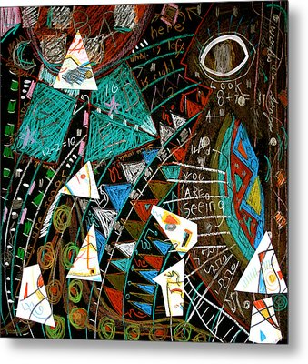 Source Metal Print by Clarity Artists