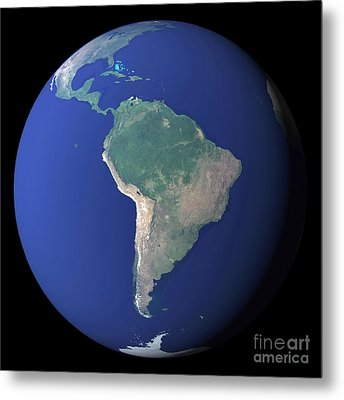 South America Metal Print by Stocktrek Images