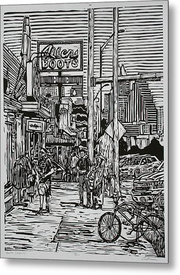 South Congress Metal Print
