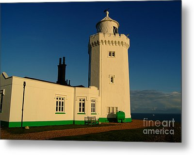 South Foreland Lighthouse Metal Print by Serena Bowles