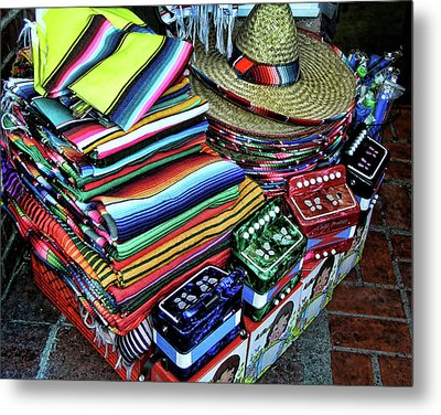 South Of The Border Metal Print by Helaine Cummins