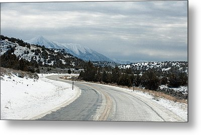 Metal Print featuring the photograph South On Highway 447 by Gary Rose