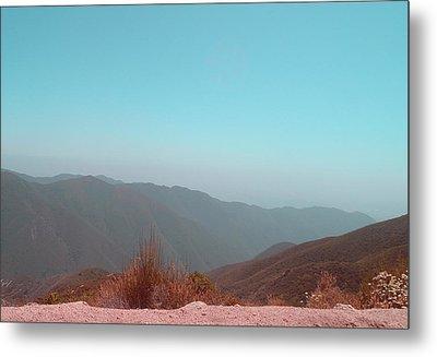 Southern California Mountains 2 Metal Print by Naxart Studio