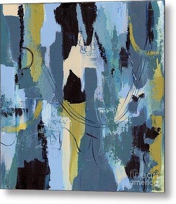 Spa Abstract 1 Metal Print by Debbie DeWitt