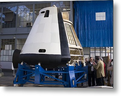 Space Capsule Metal Print by Mark Williamson