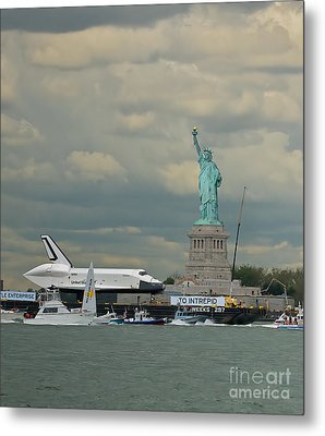 Space Shuttle Enterprise 1 Metal Print by Tom Callan