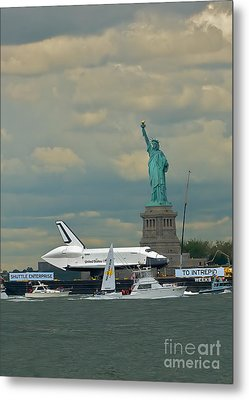 Space Shuttle Enterprise 2 Metal Print by Tom Callan
