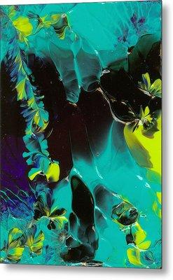 Space Vines Metal Print by Nan Bilden