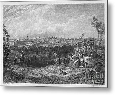 Spain: Madrid, 1833 Metal Print by Granger